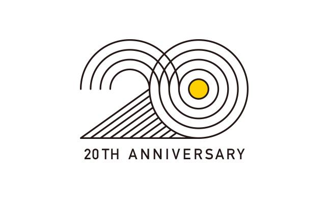 20周年ロゴが誕生しました!